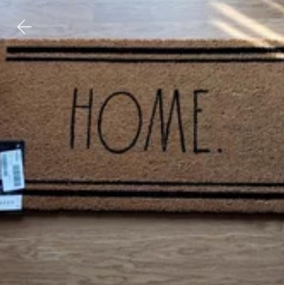 Rae Dunn HOME door mat